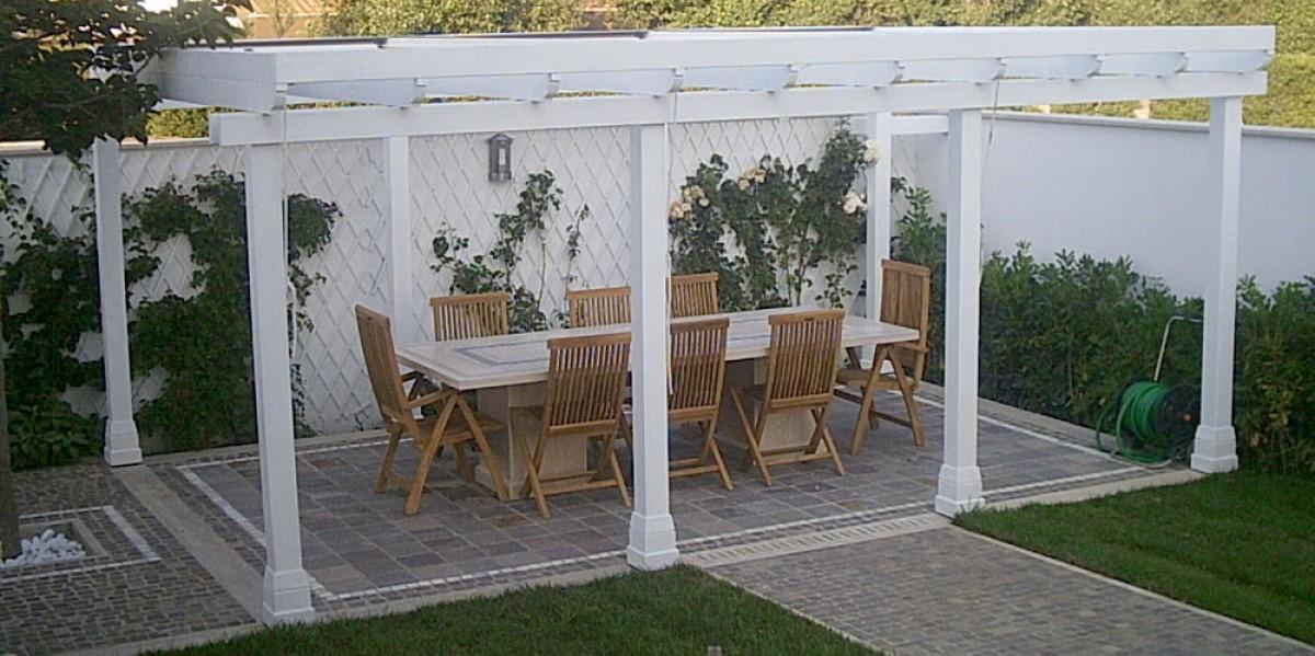 mobili per esterno morucci legno