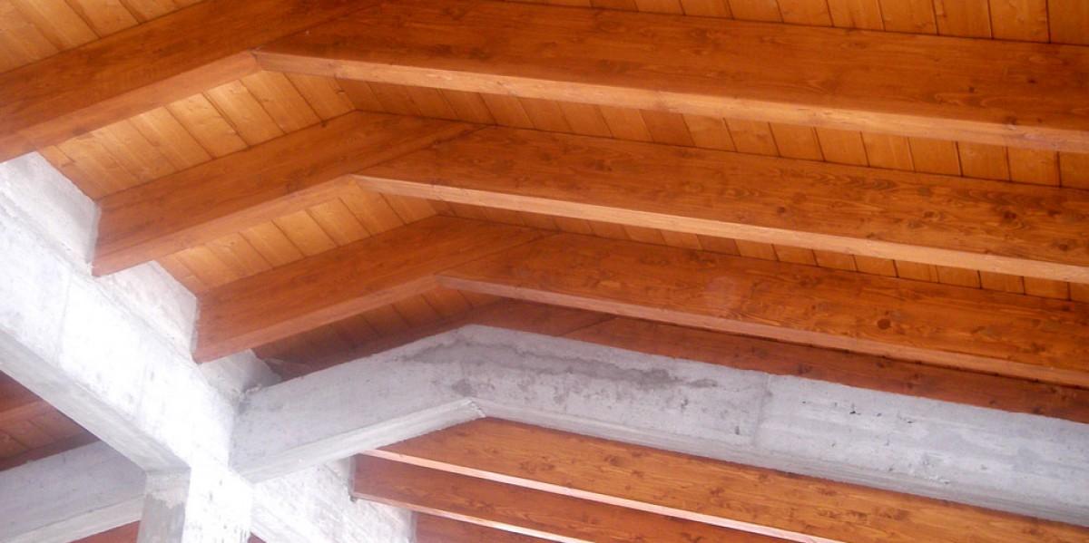 tetti in legno morucci legno